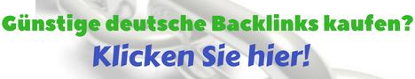 Günstige deutsche Backlinks kaufen