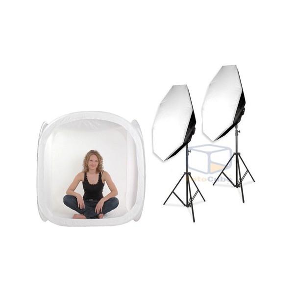 Produktfotografie mit Fotostudio beleuchtung, Lichtwürfel und Fotozelt!